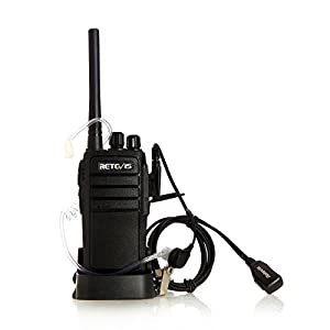 Retevis RT21 Two Way Radio Rechargeable 2 Way Radios UHF FRS 16CH