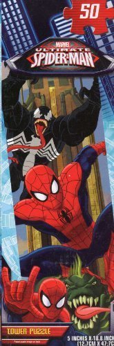 Spider - MEN Tower Puzzle #1 - 50 Pc Jigsaw Puzzle - NEW by (Spider Tower)