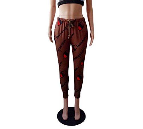Leggings Taille Femmes HEFEI Entra Full Filles Couleur Courir Adolescent Sport Fitness XIAOXAIO Casual Gris Stretchy nement Fte XL Print Pantalon w5qqUrdpn