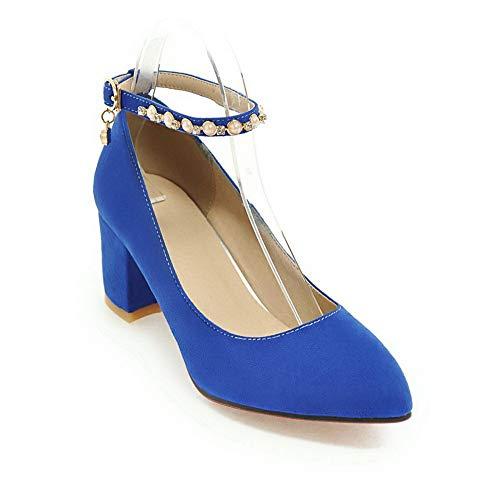 Zeppa Sconosciuto Blue MMS06232 Blu Sandali con 35 1TO9 Donna xnaHU