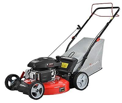 "PowerSmart DB2321S 21"" 3-in-1 161cc Gas Self Propelled Lawn Mower"