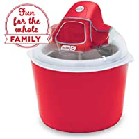 Dash DIC001RD Deluxe Ice Cream Frozen Yogurt & Sorbet Maker