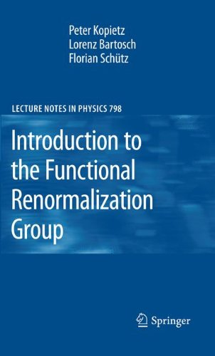 Introduction to the Functional Renormalization Group (Lecture Notes in Physics, Band 798)