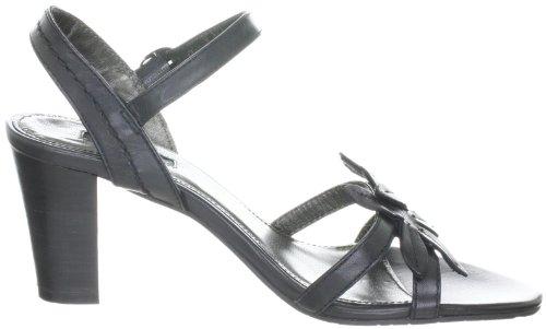 Belmondo 227143/H 227143/H - Sandalias de vestir de ante para mujer Negro