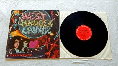 West, Bruce & Laing LP Live 'N' Kickin' * Columbia / Windfall Records 1974 - Live Performances - Original Labels -