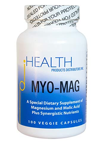 MYO-MAG – Magnesium Energy Enhancer (100 caps) – Synergistic Magnesium and Malic Acid Formula with Coenzyme B Vitamins (B1, B2, B6) – Supports Energy Production, Metabolism, Muscles, Enzyme Systems