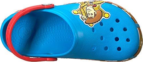 Crocs Unisex-Kids CB FL Lights K Clog, Ocean, 12 M US Little Kid by Crocs (Image #1)