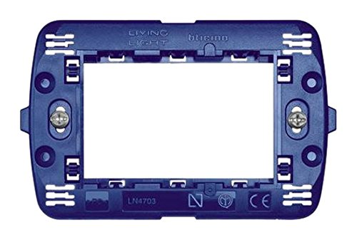 bticino LN4703 tapa de seguridad para enchufe - tapas de seguridad para enchufes (Azul, IMQ, ER) SLN4703F