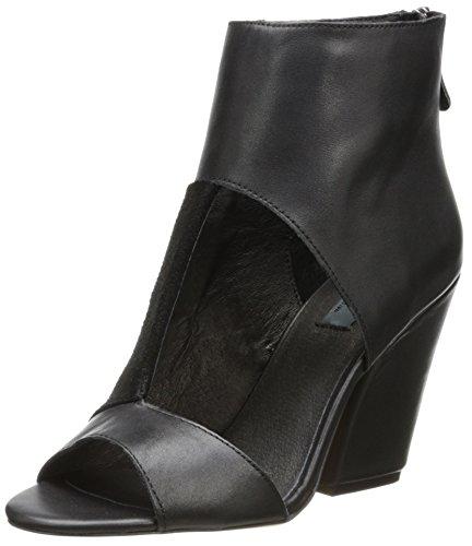 Edição Limitada Mia Mulheres Desonestos Couro Preto Ankle Boots Nova Moda Eu 36.5