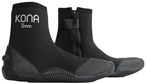 UPC 783956755889, Kona 3mm Premium Double-Lined Neoprene Scuba Diving Boots with Vulcanized Grip Technology (Mens 8/Womens 9)