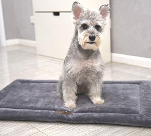 XXL WTTTTW Dog Bed Crate in Washable Pet Beds Soft Dog Mattress Anti Slip Kennel Pads Suitable for All Kinds of Places Four Seasons