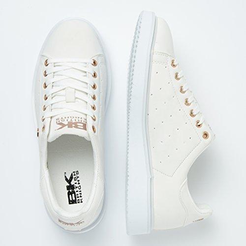 British Knights Damen Sneaker Pink Altrosa 38 EU Weiß