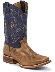 Tony Lama Mens Lockhart 3R Stockman Boot Round Toe - 3R1131