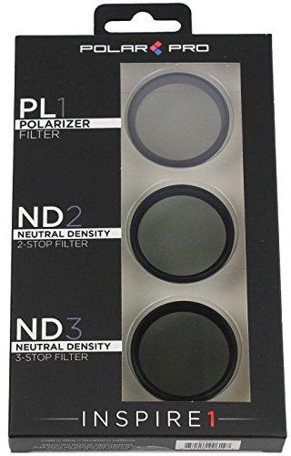 Full Grey Filter Full Orange Filter and Full Blue Filter Neewer for DJI Inspire 1 Full Color Lens Filter Set 3 Pieces