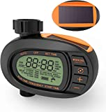 Best Hose Timers - TACKLIFE Watering Timer, Outdoor Waterproof Solar Powered Hose Review