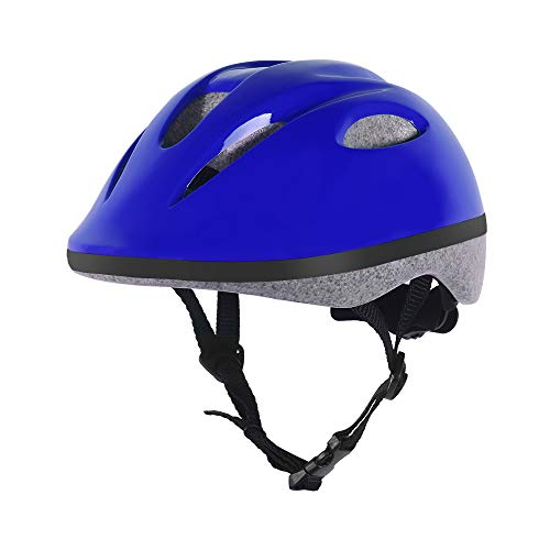 BELEEV Kids Bike Helmet 5-8 Years Old, CSPC Safety Certified, 360 Degree Padded & Adjustable Multi-Sport Child Bicycle Helmet, Lightweight & Comfortable for Boys and Girls (Blue)