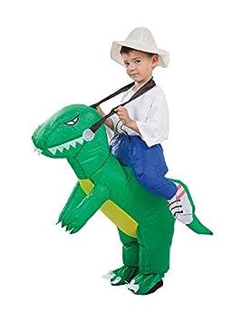 DISBACANAL Disfraz de Dinosaurio Hinchable Infantil: Amazon ...