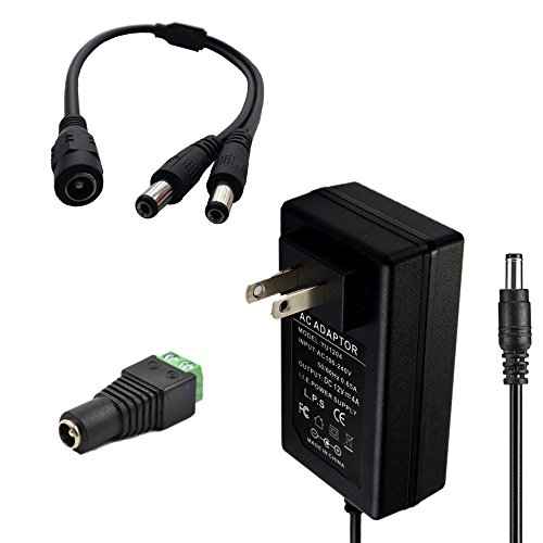 Eleidgs Switching Adapter 5 5x2 1mm Splitter