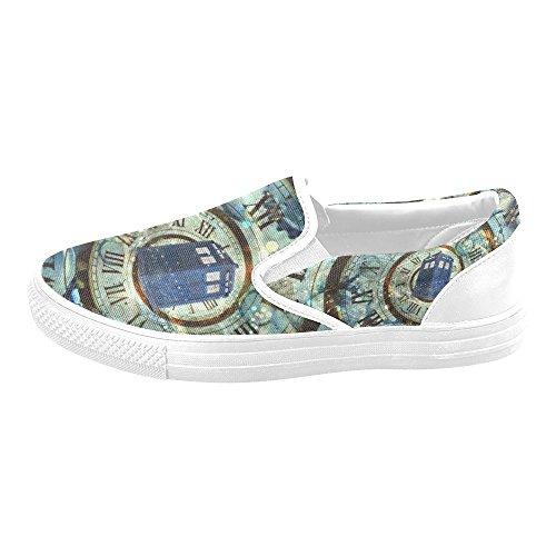 Scarpe Da Donna Uniche Di Debora Custom Fashion Sneakers Insolite Mocassini Slip-on Canvas Multicoloured33