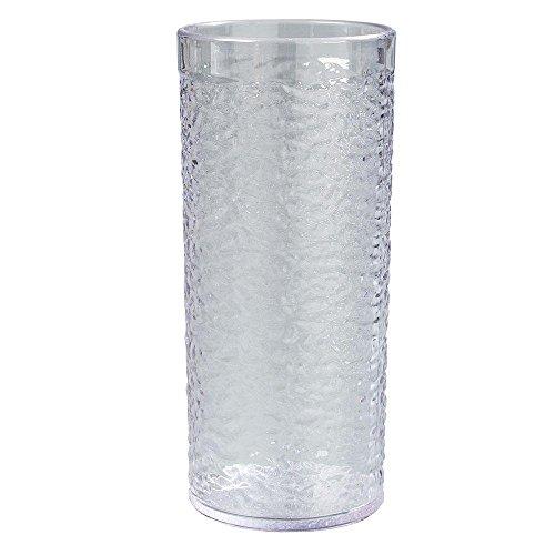 20 oz. SAN Plastic Pebble Optic Tumbler in Clear (Case of (Pebble Optic Plastic Tumbler)