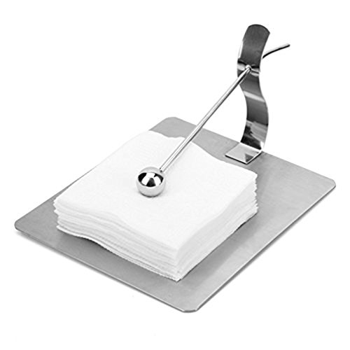 Stainless Steel Gripping Ball Paper Towel Holder Dining-table Napkin Holder for Hotel and Home