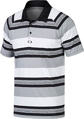 Oakley Men's Aviator Polo, Medium, - Black Oakley Aviators