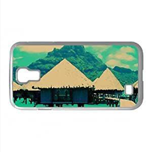 lintao diy Bora Bora Resort Watercolor style Cover Samsung Galaxy S4 I9500 Case (Islands Watercolor style Cover Samsung Galaxy S4 I9500 Case)
