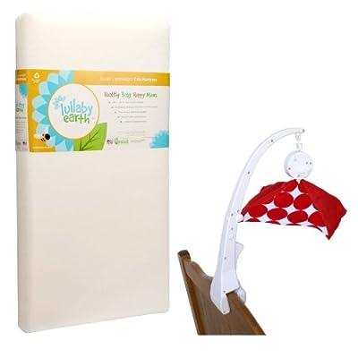Amazoncom Lullaby Earth Super Lightweight Crib Mattress With Crib