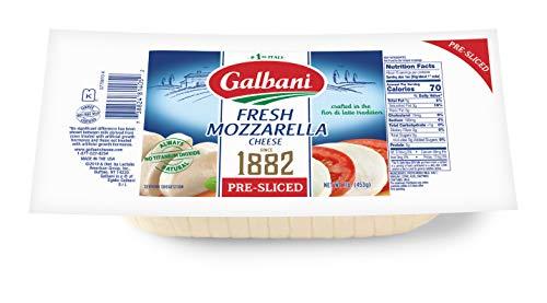 Galbani Fresh Sliced Mozzarella Cheese Log, 16 - Part Skim Mozzarella