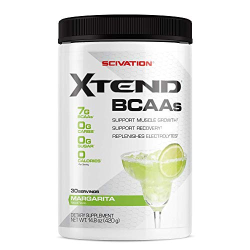 Scivation Xtend BCAA Powder, Branched Chain Amino Acids, BCAAs, Margarita, 30 Servings