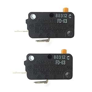 Amazon.com: LONYE Microondas Horno Puerta Micro Interruptor ...