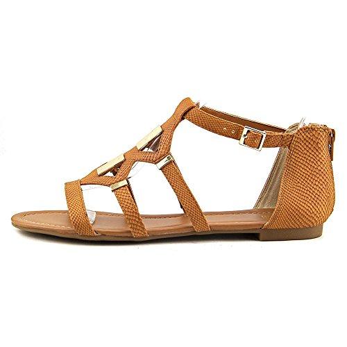 Sandals III Bar COGNAC Gladiator Womens Toe Open Rodeo Casual wT0qT