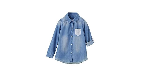 VERTBAUDET Camisa Vaquera niña: Amazon.es: Ropa