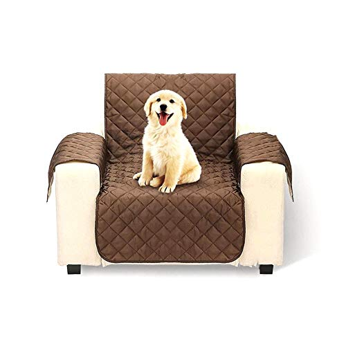 Hamkaw Funda Sofa Impermeable, Protector de Sofá para Mascotas en Doble Cara, Antideslizante, Anti Sucio, Anti - Rascado, 1 Plaza/2 Plazas/3 Plazas