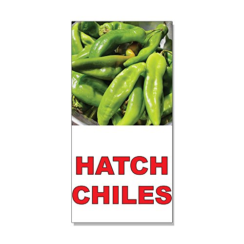 Match Chiles Red Food Bar Restaurant Food Truck DECAL STICKER Retail Store Sign - 9.5 x 24 inches
