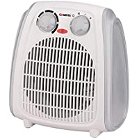 Elekta Fan Heater with Thermostat 2000W, Cool - Warm - Hot Selection