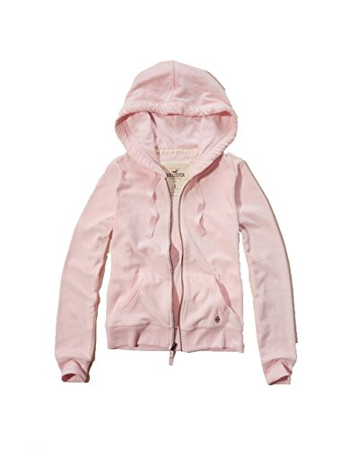 hollister-womens-velour-full-zip-hoodie-girls-large-pink
