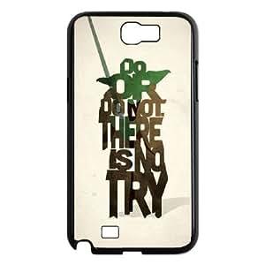 Star Wars Yoda Samsung Galaxy N2 7100 Cell Phone Case Black as a gift I698035
