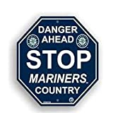 Seattle Mariners Stop Sign