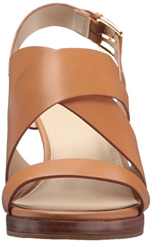 Cole Haan Women's Penelope II Wedge Sandal, Pecan Leather, 7.5 B US by Cole Haan (Image #4)