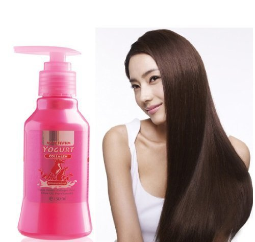 (Pack of 2) Bio-Woman Hair Serum Yogurt Protein and Collagen Hair Damaged 150 Ml. ()