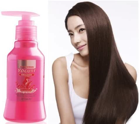 (Pack of 2) Bio-Woman Hair Serum Yogurt Protein and Collagen Hair Damaged 150 Ml.