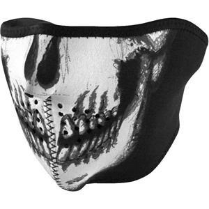 Zan Headgear Half Mask - One size fits most/Glow In The Dark Skull