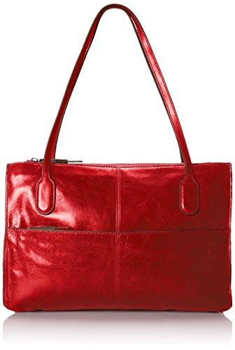 HOBO Friar Top Handle Bag,Garnet,One Size | Desertcart