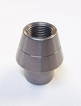 qsc 3/4 - 16 (Izquierda rosca Soldadura en tapón .250, el adaptador de tubo roscado insertar: Amazon.es: Coche y moto