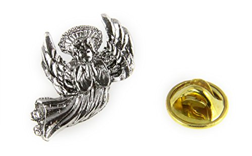 6030457 Healing Angel Lapel Pin Guardian Nurse Doctor Brooch Tie Tack RN Medical Bursing School Graduation ()