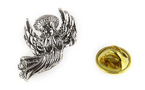 6030457 Healing Angel Lapel Pin Guardian Nurse Doctor Brooch Tie Tack RN ()