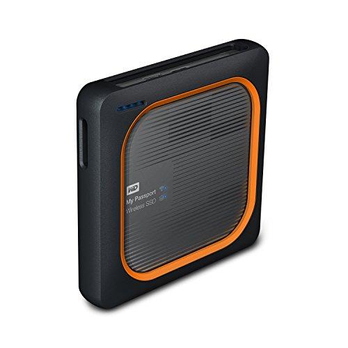 WD 250GB My Passport Wireless SSD External Portable Drive - WiFi USB 3.0 -WDBAMJ2500AGY-NESN by Western Digital (Image #1)