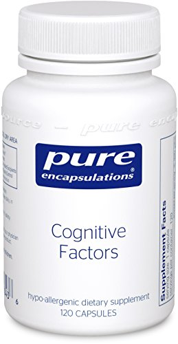 Pure Encapsulations Cognitive Hypoallergenic Supplement