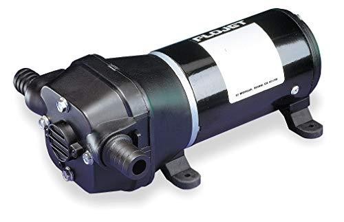 (Flojet Quad Chamber Diaphragm Bilge/Sump Pump, Voltage: 12VDC, Polypropylene -)